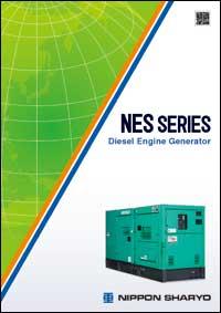 NES-series Transportable Diesel Generator NISSHA