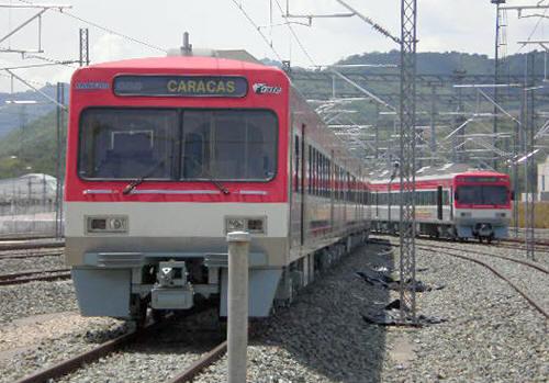 ベネズエラ・カラカス近郊電車