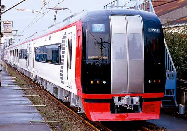 ○名古屋鉄道 2200系特急型電車