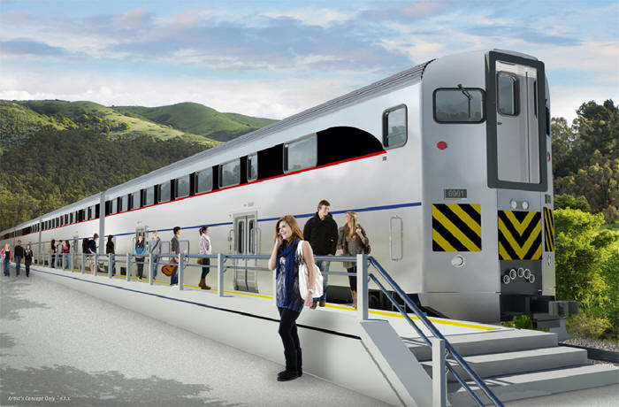 Receive The Contract Award For 130 Bi Level Passenger Cars